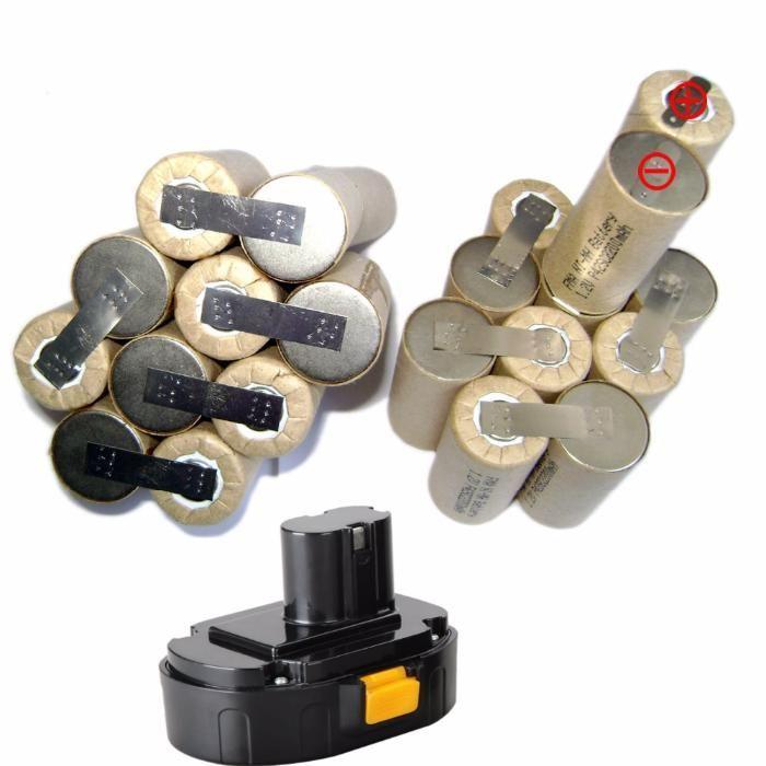 12V 2200Sub C Ni CD -Пакет батерия за винтоверт за Bosch,Makita, и т.