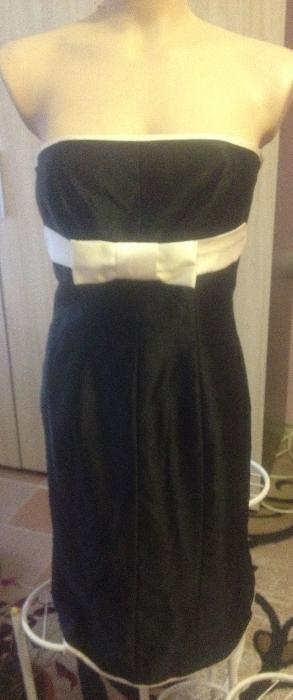НОВА Бутикова парти рокля сатен