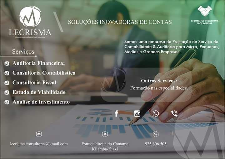 LECRISMA (Contabilidade _ Estudo de Viabilidade _ Auditoria & Formação
