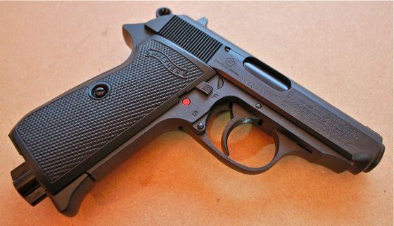 Pistol FULL METAL Airsoft (Sina Ris Pentru Optiuni Tactice) Cu Recul