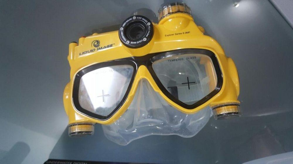 Vizor scufundari cu camera