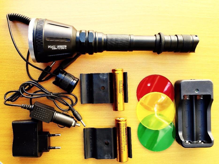 Фенер за лов BL-Q2888-T6 (6W) CREE с два акумулатора