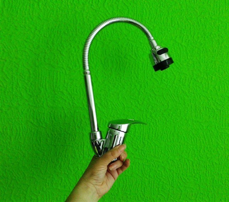 Намален от 36лв-Смесител за мивка за кухня и баня, чешма