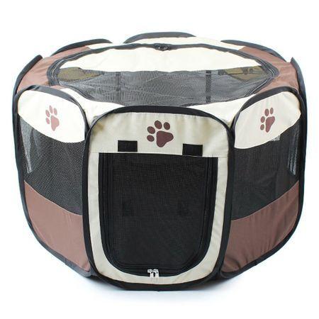 Tarc pliabil pentru caini/pisici, interior sau exterior, 114X114x58 cm