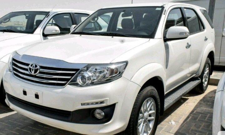 Toyota Fortuner novo modelo
