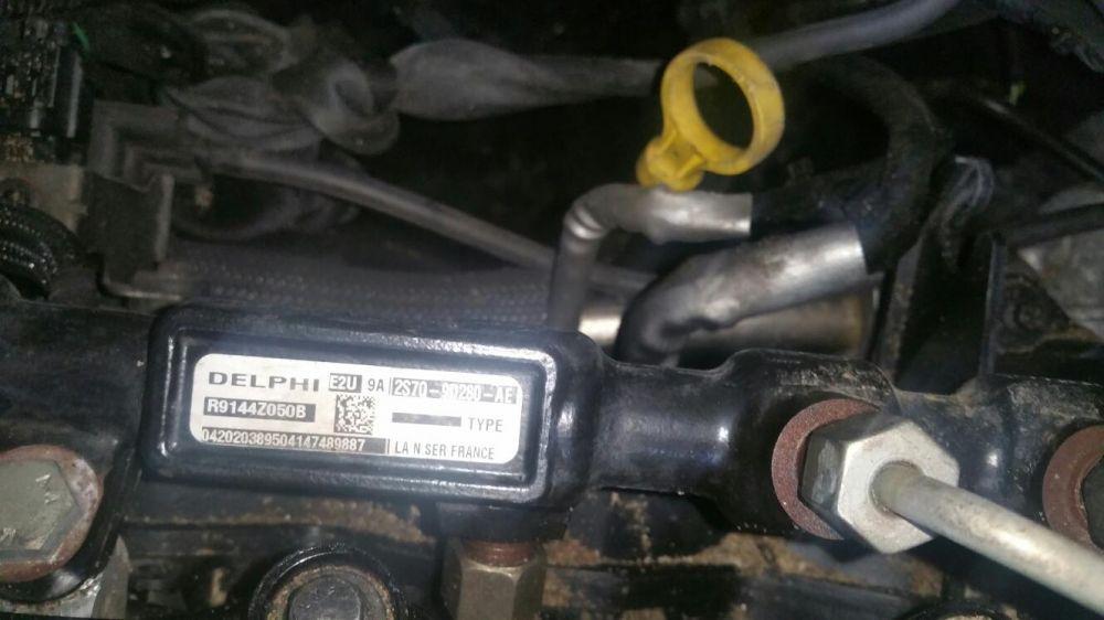 Rampă injectoare și senzor regulator presiune ford mondeo 2.0 tdci