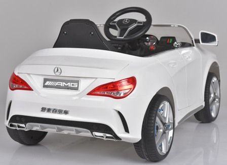 Masinuta electrica pentru copii Mercedes CLA + factura + garantie Bucuresti - imagine 6
