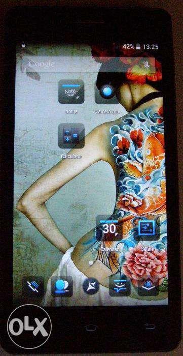 Allview P6 Life, smartphone dualsim, sticla fisurata colt