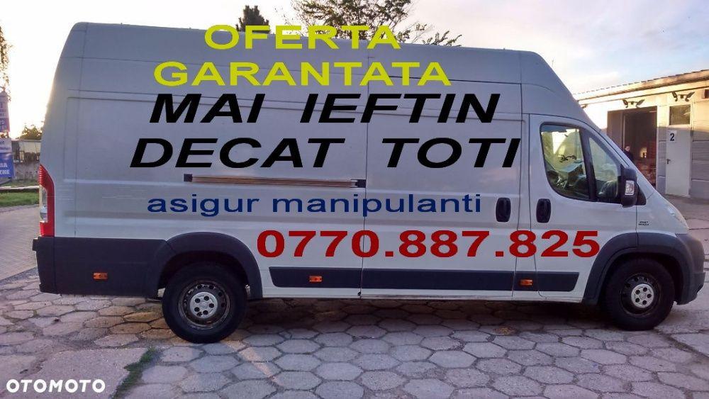 TRANSPORT MARFA,mutari mobila,MOLOZ.etc,pret CRIZA,3.5 tone.manipulare
