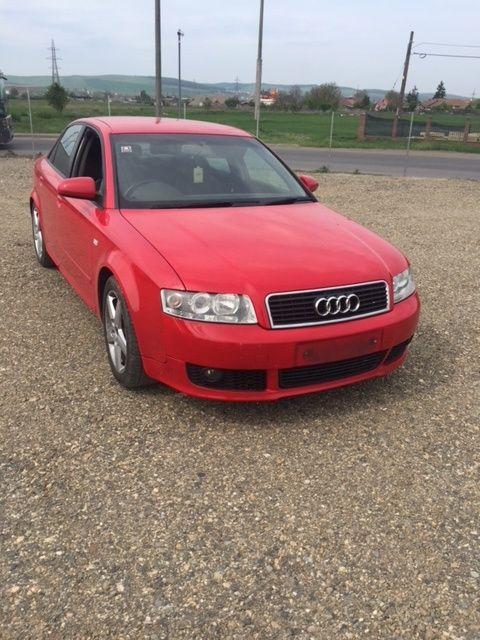 Dezmembrez Audi A4 b6 2003 rosu,motor 1,9tdi tip avf, cutie aut