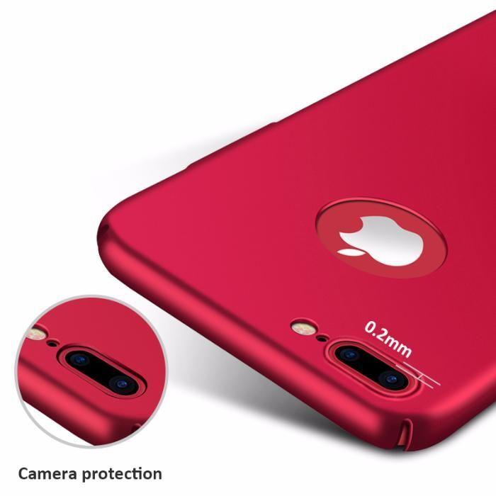 Thin Fit ултра тънък твърд мат кейс за iPhone 6, 7, 8, 7+, 6+, 8 Plus гр. София - image 9