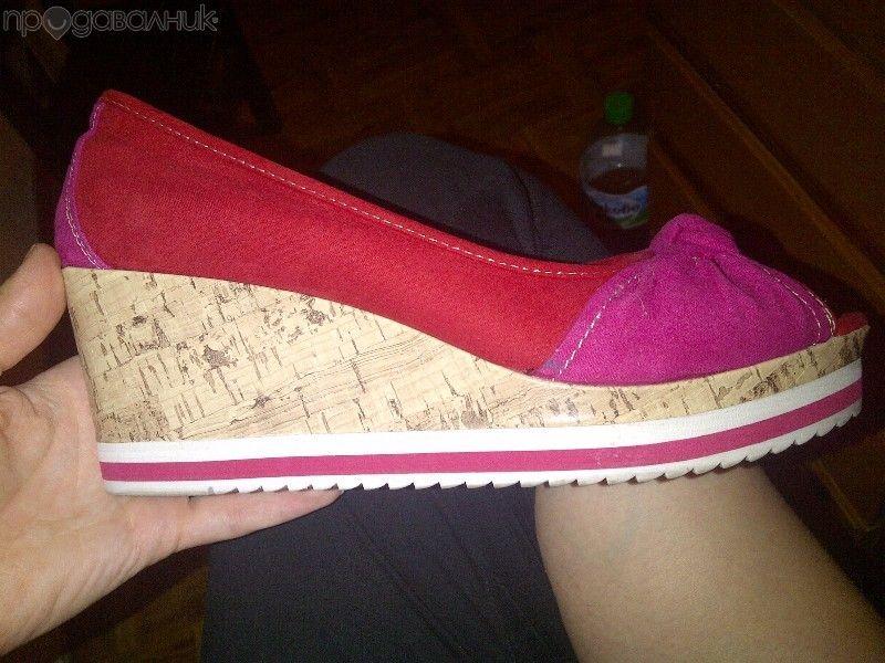 Дамски обувки - платформи Graceland (deichmann)