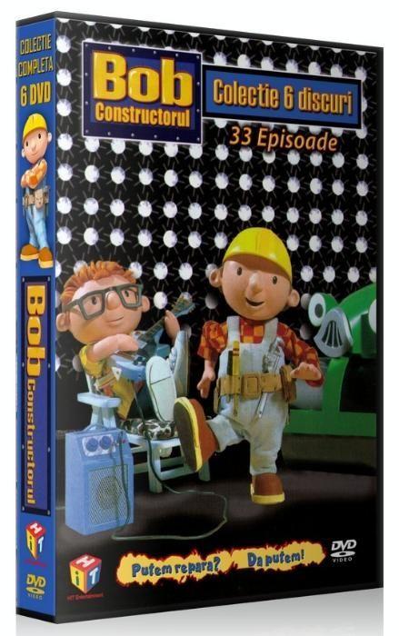 Bob Constructorul - Colectie 6 DVD-uri desene animate dublate romana