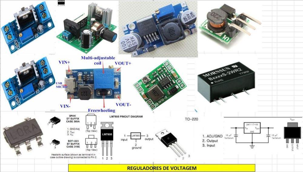 Reguladores Voltagem