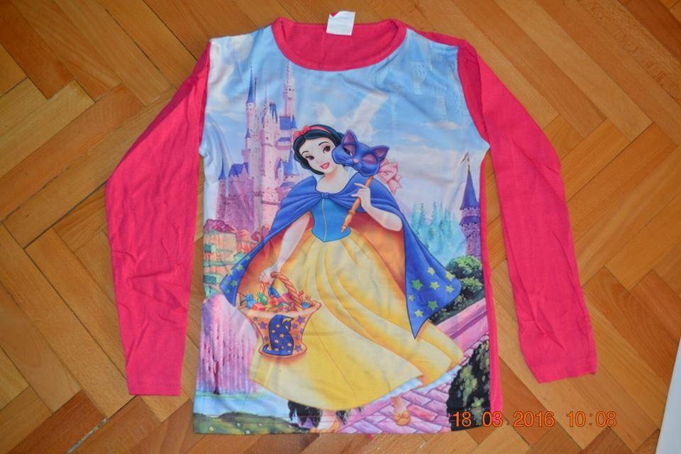 bluza roz Alba ca zapada, subtire.marimi intre 6 pana la 10ani