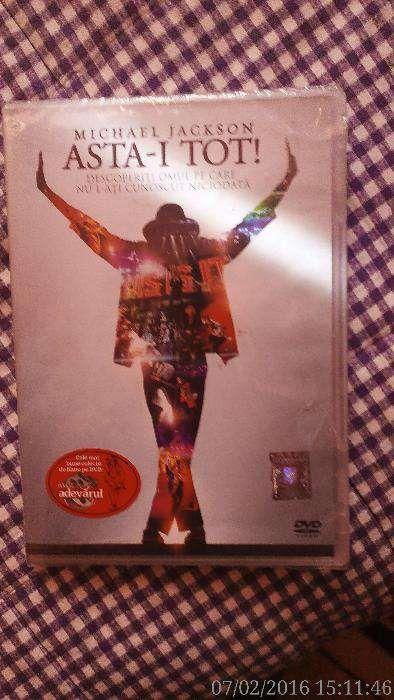 Film de colectie cu Michael Jackson nou,in tipla.