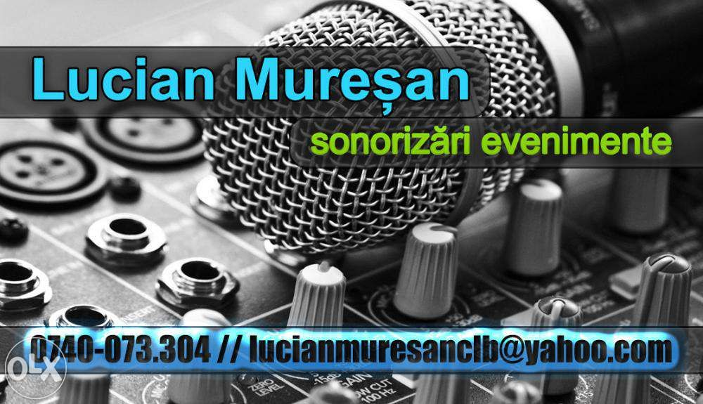 Inchirieri / inchiriez boxe , mixere , microfoane Revelion