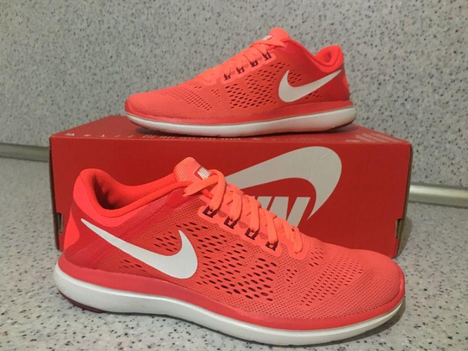 НОВО *** Оригинални Nike Flex 2016 Rn  Brght Mng/White/Brght Crmsn