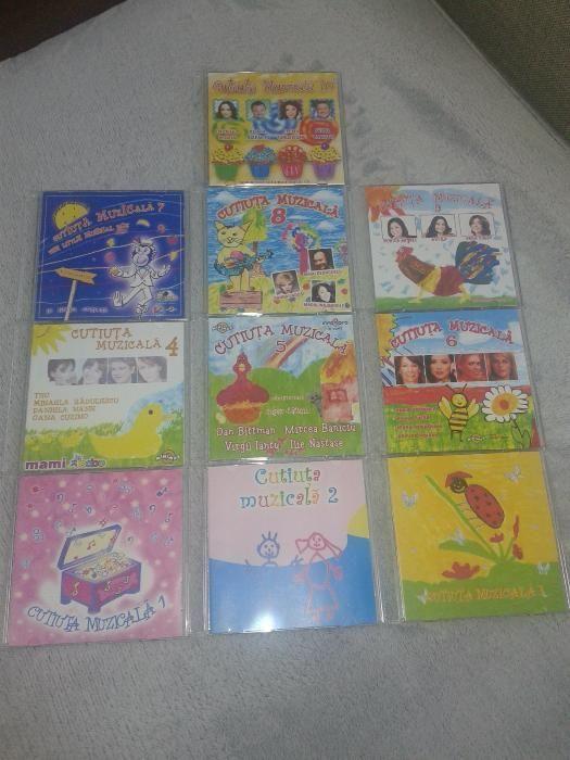 Cutiuta Muzicala - 10 CD-uri cu muzica pentru copii 15lei/bucata