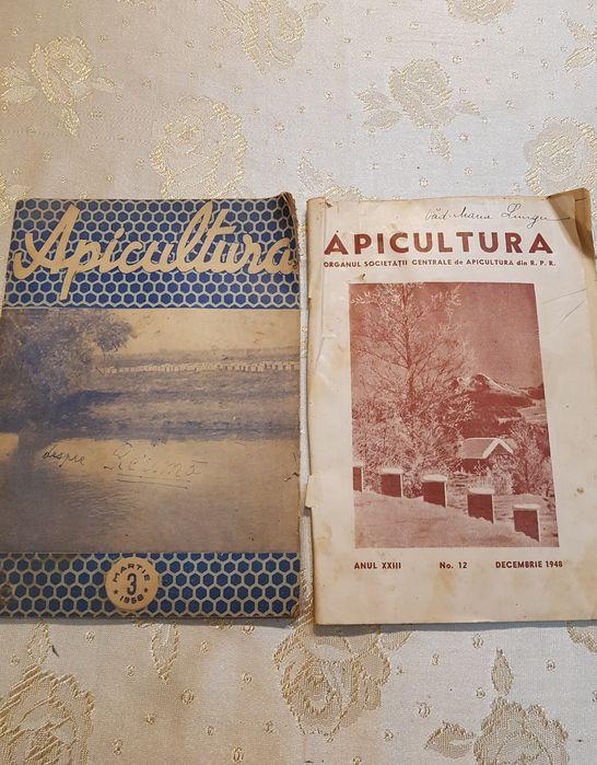 Reviste vechi apicultură 1948 - 1958