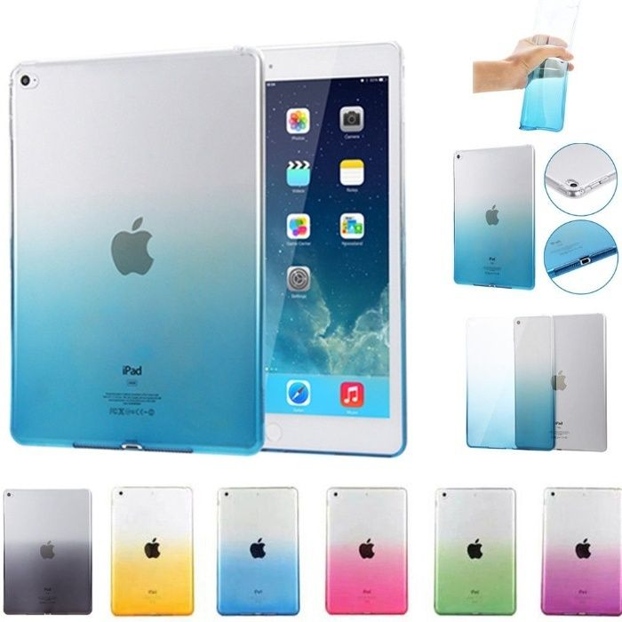 Husa spate COLOR slim transparenta iPad Mini, iPad 2017, iPad Air, PRO