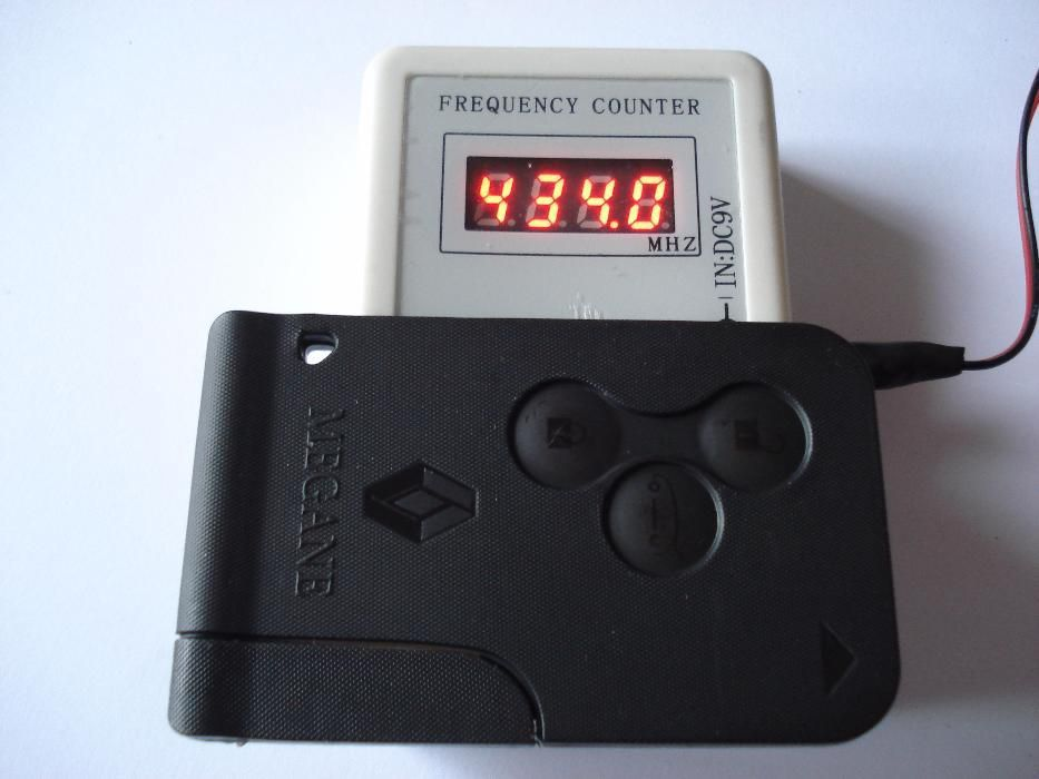 Чисто нова 3 бутонна ключ карта за рено меган renault Megane