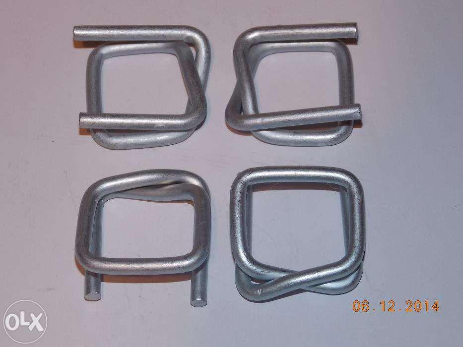 Bucle, catarame de 13 si 16mm pentru legat cu banda marfa, paleti