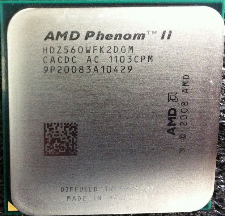 AMD Phenom II X2 560 Black Edition /3.3GHz/