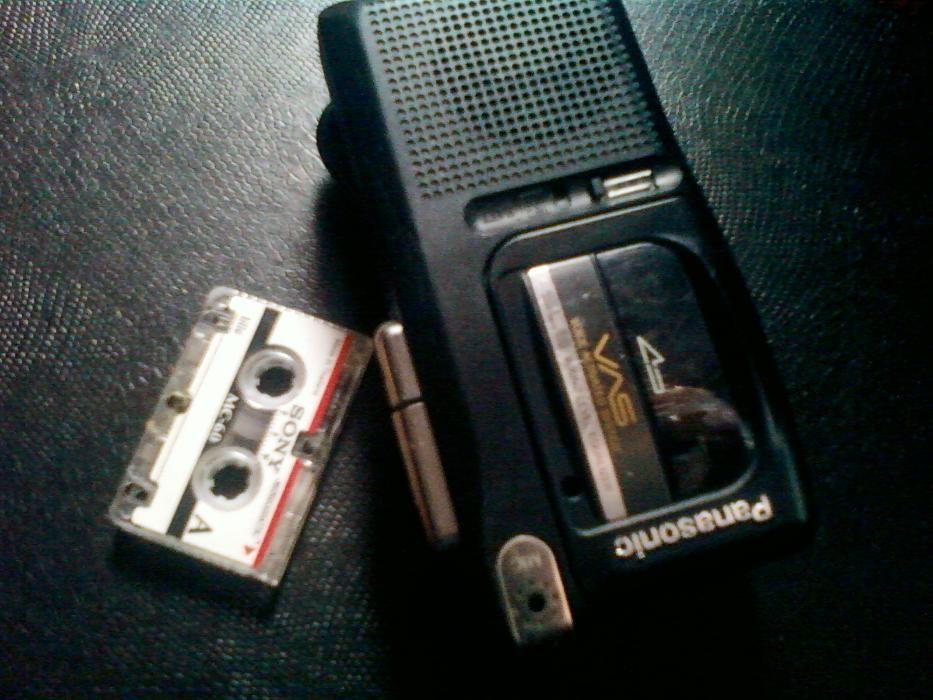 Panasonic модель RN-105 микро - кассета рекордер. Япония Оригинал 1985