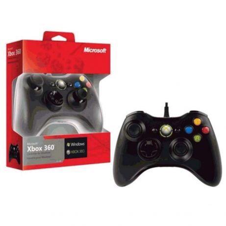 (dois joystick )para Xbox 360 a cabo selados na caix a