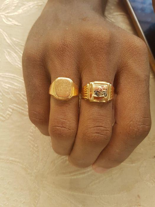 Aneis de ouro 18k