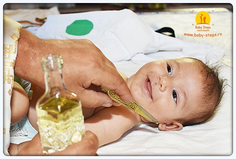 Fotografie de botez - calitate la tarife accesibile (Baby Steps Photo)