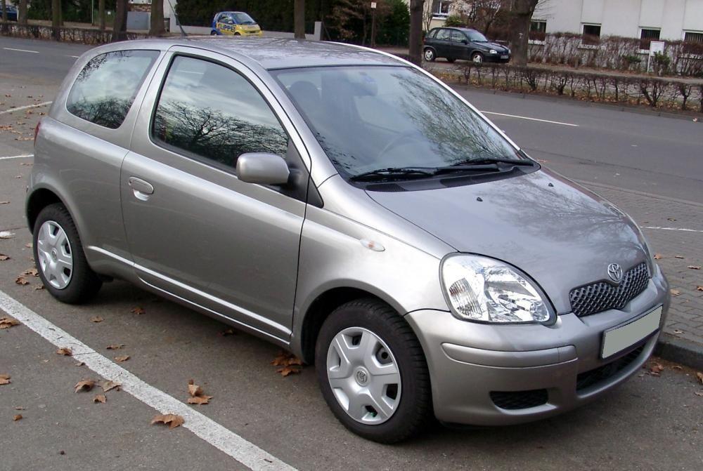 Toyota Yaris 2003 части