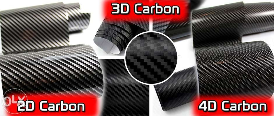 Folie de carbon 3D - 4D si transparent Folie cromata si folii de stopu