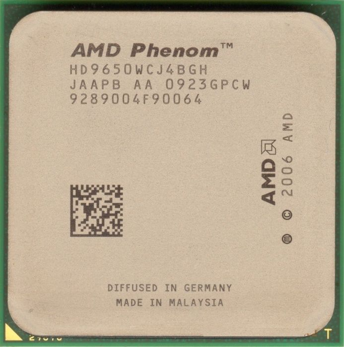 AMD Phenom X4 9650 /2.3GHz/