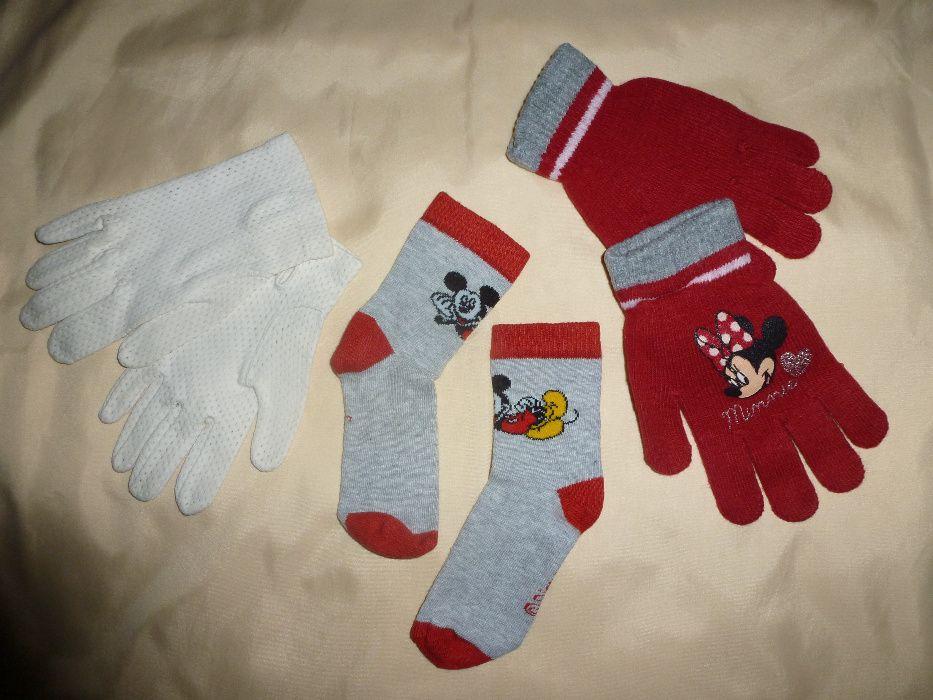 детски ръкавици, чорапи Мики Маус