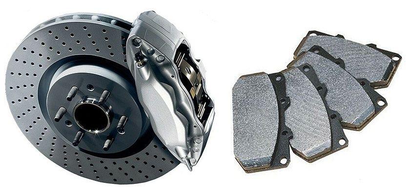 Тормозные колодки LEXUS RX300, RX330, RX350 ES300. Toyota Camry.