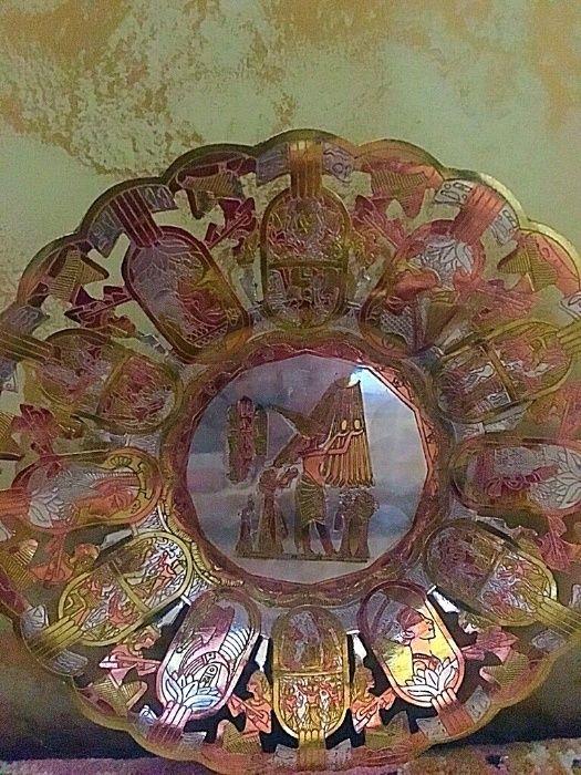 Тарелка декоративная -интерьерное украшение.