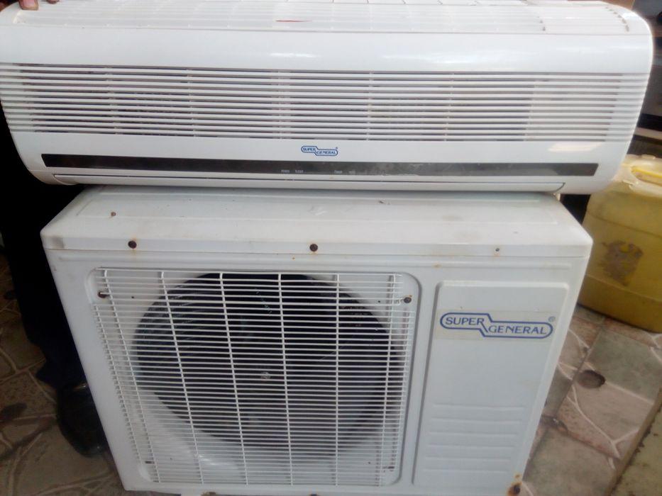 oferta AC 9000btu super general semi novo complete pronto a refrescar