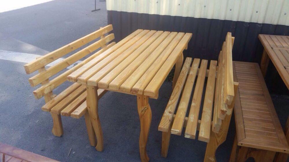 Столы с лавочками от 30000 а так же полки итд.для бань