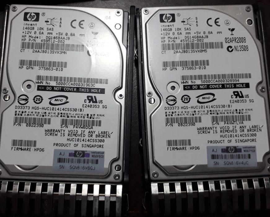 Disco Duro HP 146GB 6G SAS