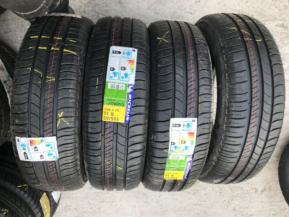 9бр Нови Летни гуми 195,65,16 - Michelin