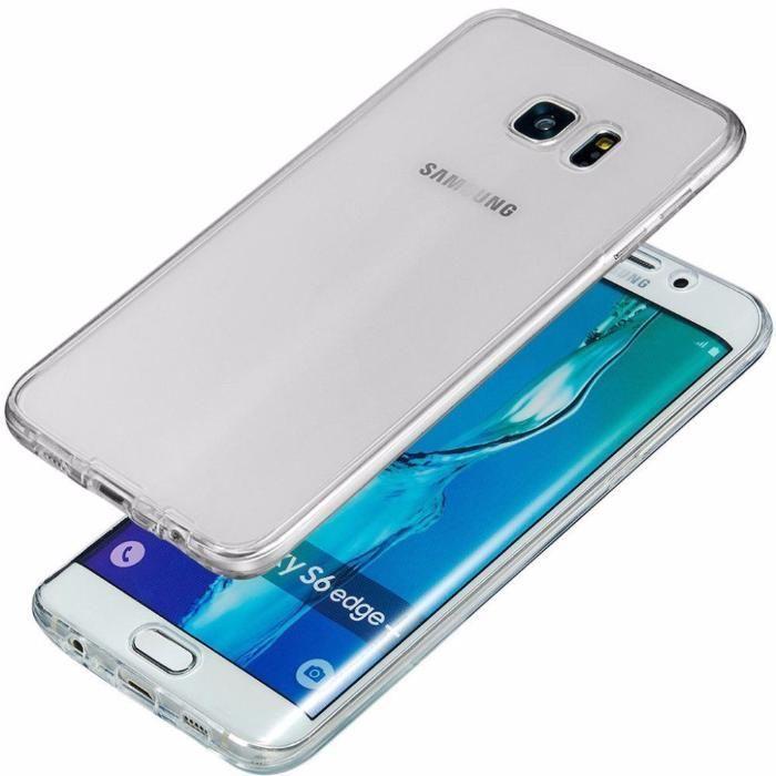 Husa 360 Fata Spate Silicon Subtire 0.3MM - Samsung S6 S6 Edge S7