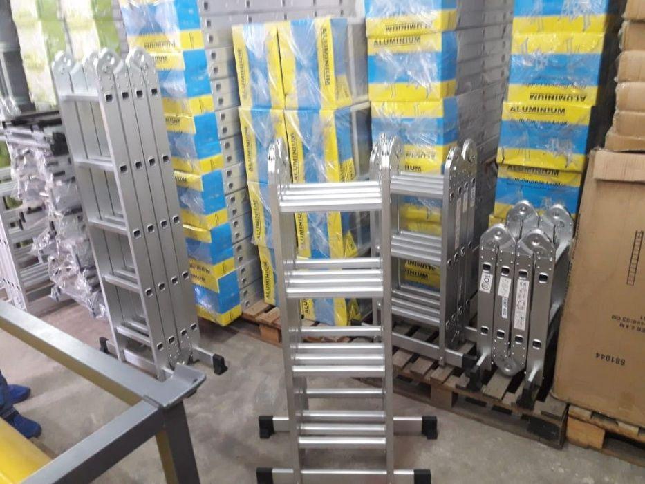 Escadotes articulados em alumínio alta qualidade modelo KMP404