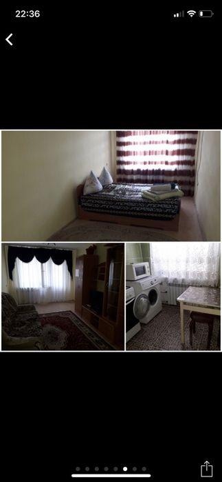 Посуточная аренда квартиры в Авангард 2мкр 15дом 3этаж.