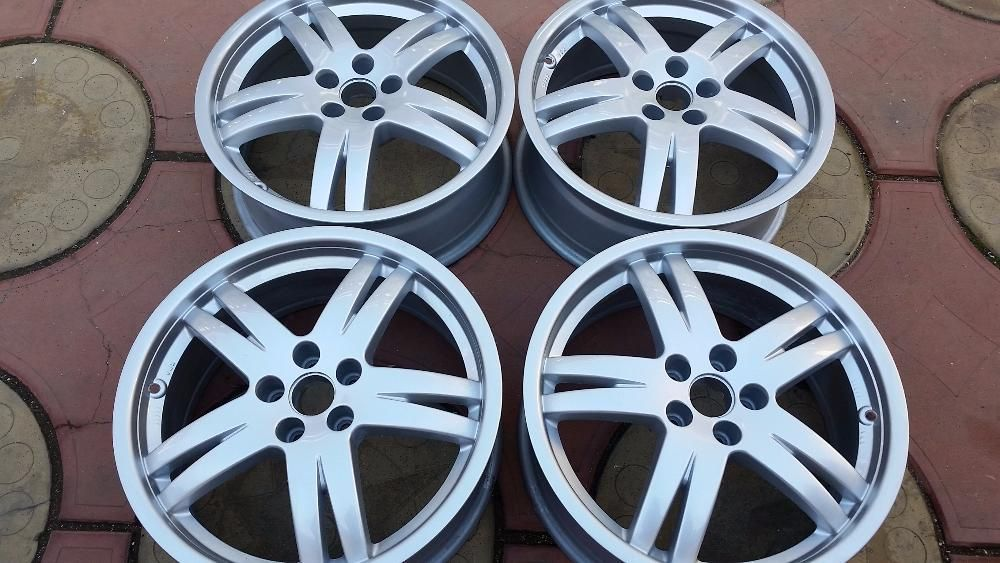 set jante originale R17 5X100 VW GOLF4 BORA BEETLE OCTAVIA1 LEON1
