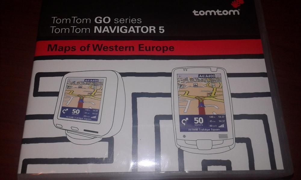 Навигационни дискове TomTom Go series/Navigator 5