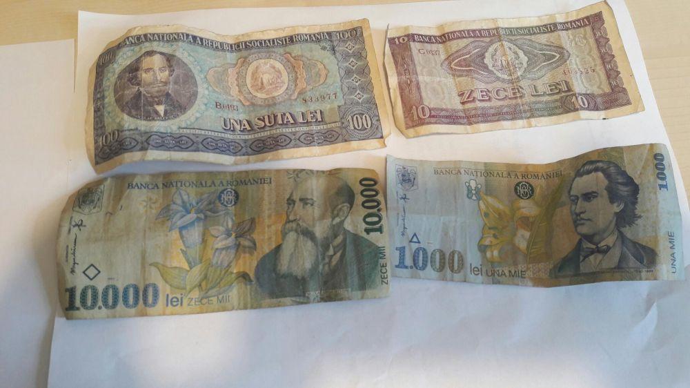 Colectie menede si bancnote vechi Buciumeni - imagine 4