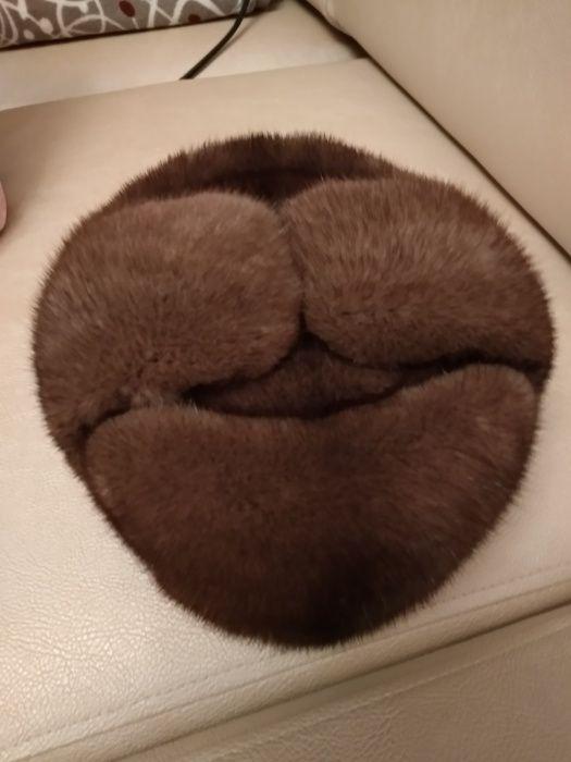 Норковая шапка срочно