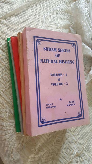 Livros de cura natural (homeopatia e Miasms) volume 1, 2, 3, 4, 5, 6